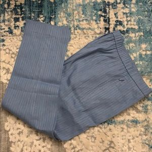 Theory Basic Pull On linen&viscose ankle Pants